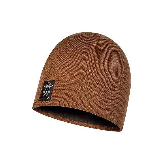 Buff Polar Solid - Gorro de punto para adultos, color caqui marrón ...
