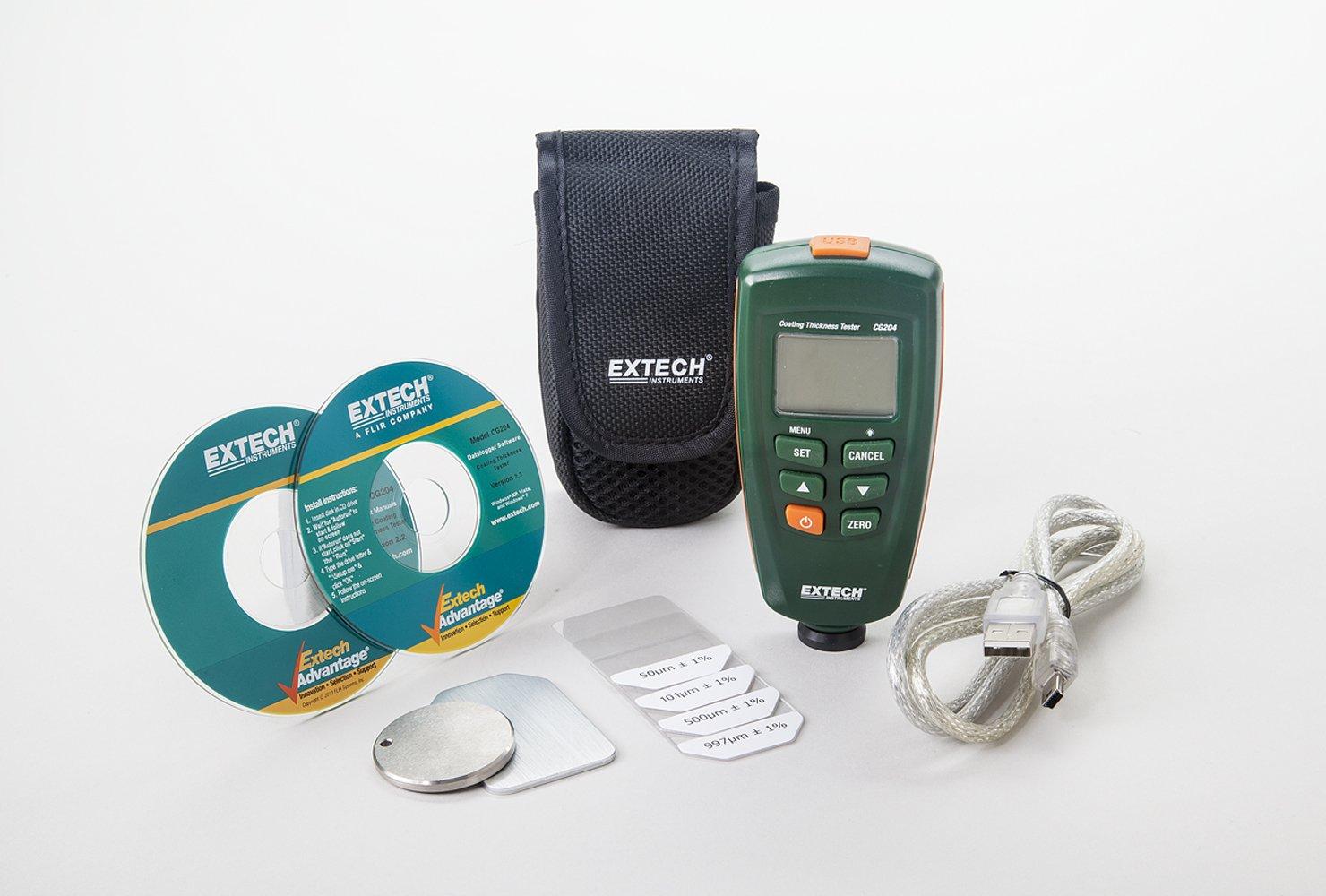 Extech CG204 Probador de espesor de revestimiento: Amazon.es: Industria, empresas y ciencia