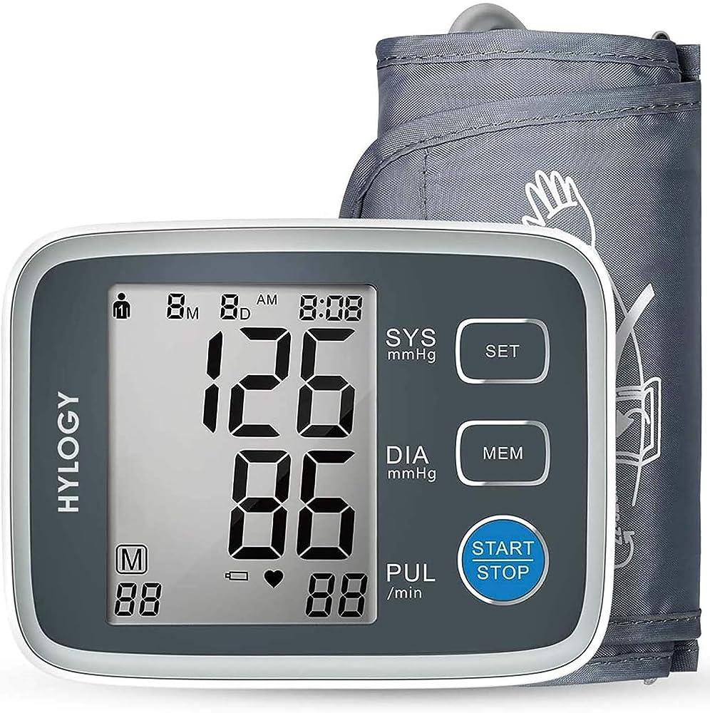 Hylogy misuratore pressione da braccio digitale