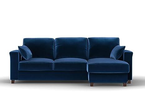 Kooko Home - Sofá de Esquina Convertible con baúl de ...