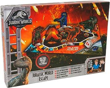 Jurassic World Juego de Mesa para Niños Dinosaurios Juguetes Multijugador: Amazon.es: Juguetes y juegos