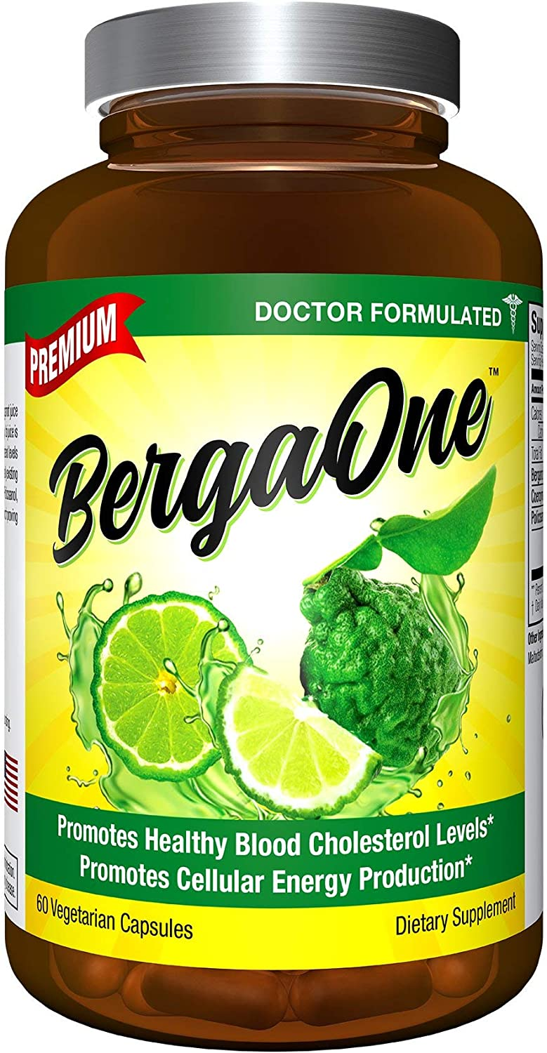 BergaOne - Italy's Citrus Discovery for Healthy Cholesterol - Once Daily