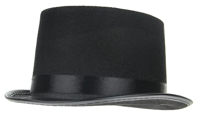 Amazon.com  Gemvie Kids Boy Girl Black Top Hat Magician Hats Fancy Dress  Halloween Cosplay  Clothing 680dc18c5a20