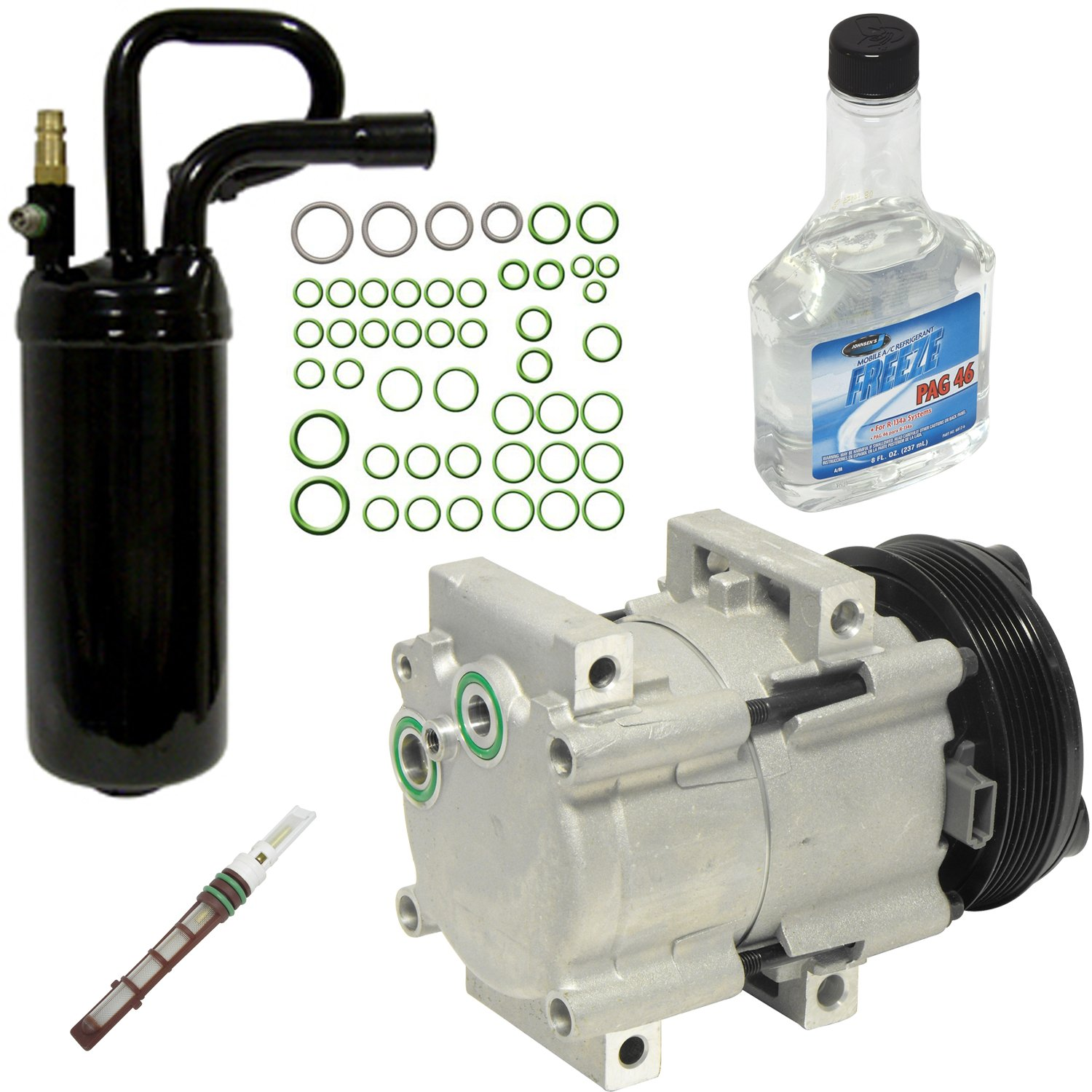 Universal Air Conditioner KT 1714 A//C Compressor and Component Kit