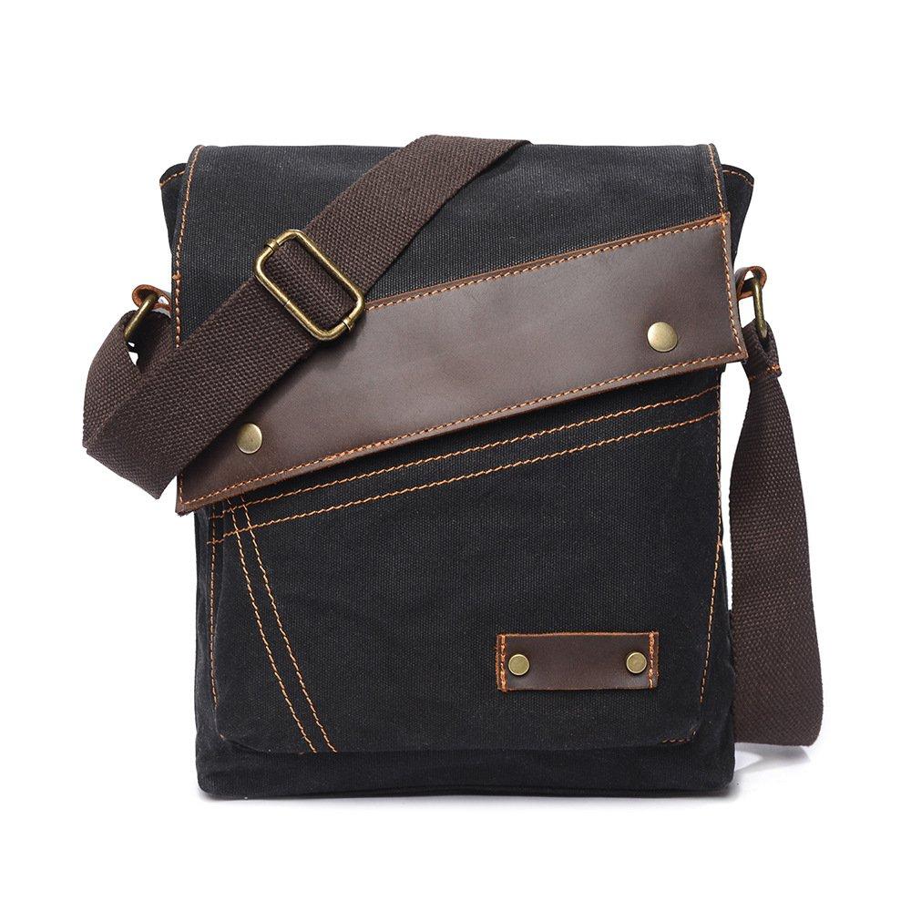 Otomoll Wasserdichte Tasche Retro Cotton Canvas Bag Crossbody Paket Neue Schultertasche