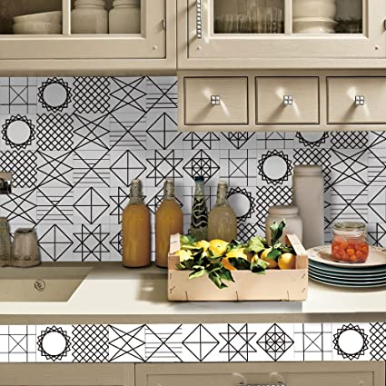 Amazon com: APSOONSELL Geometric Patterned Home Wall Decor