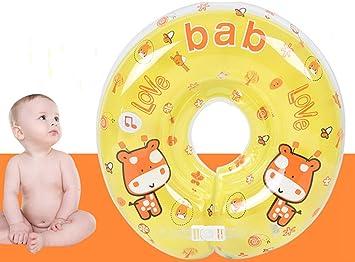 Infant Natación Flotador Inflable Anillo de Seguridad,GZQES,Asiento Inflable de Piscina Nadar Anillo para Bebe (Amarillo): Amazon.es: Deportes y aire libre