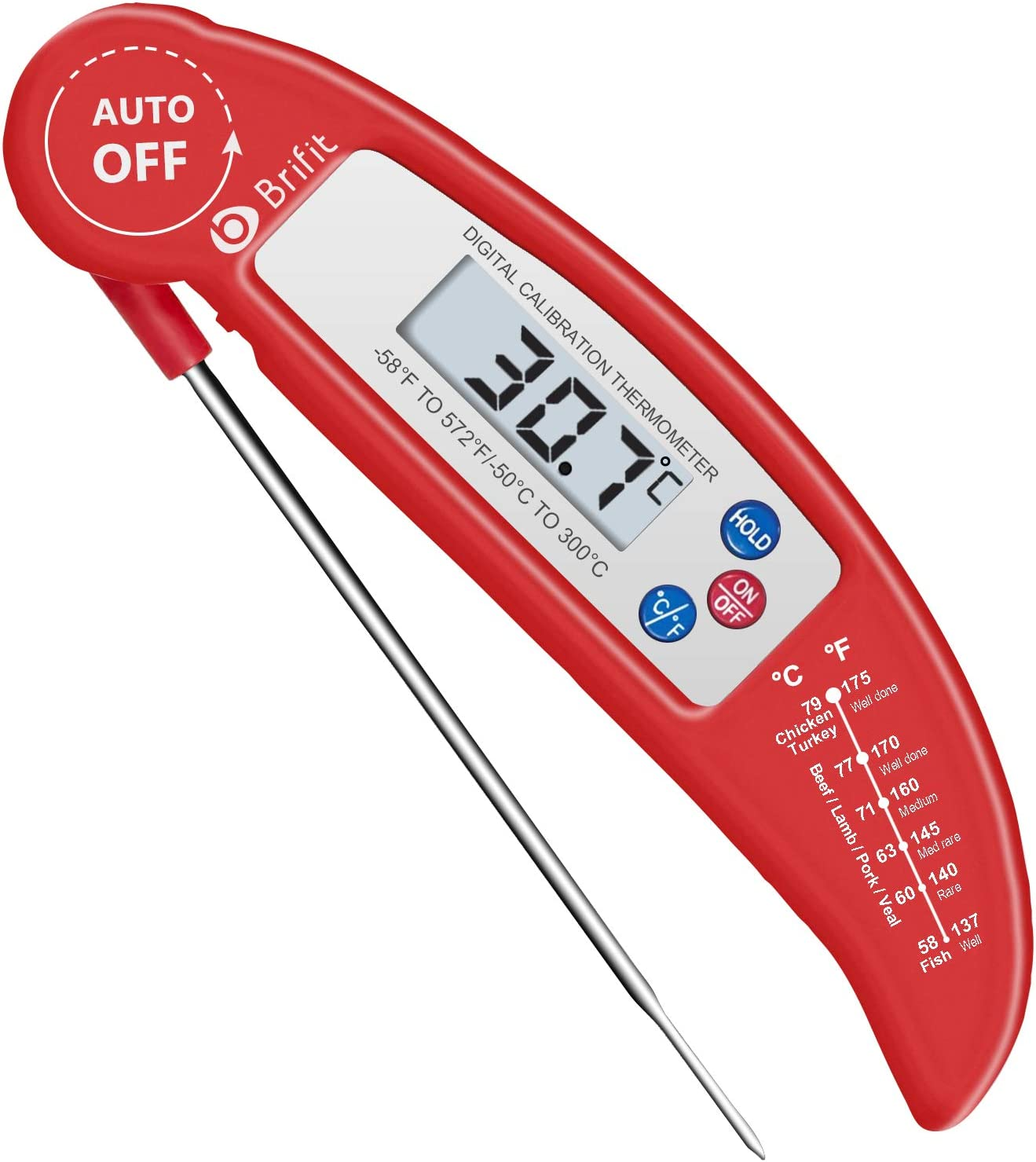 Instant Read Digital Meat Thermometer