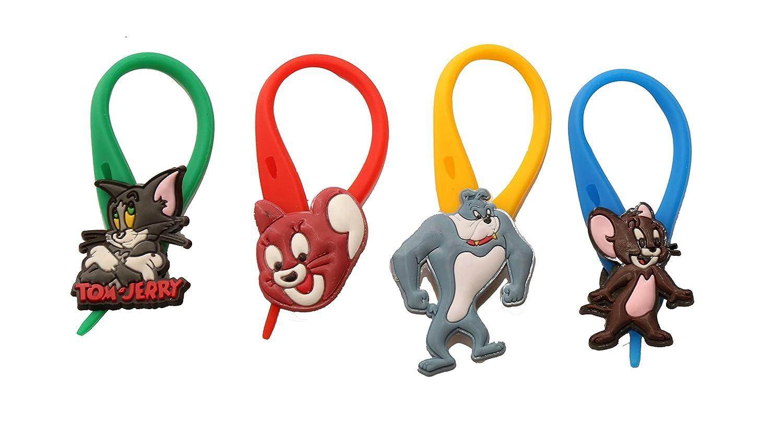 AVIRGO 4 piezas Coolorido Soft Zipper Pull Cremalleras Set # Adornos para Cazadoras Bolsas Cremalleras Set # 106 - 4: Amazon.es: Juguetes y juegos