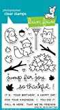 """Lawn Fawn Clear Stamps 4""""x6""""-jump For Joy"""