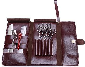 Friseur Scheren Beutel Echtes Leder Werkzeugtasche Für Friseure