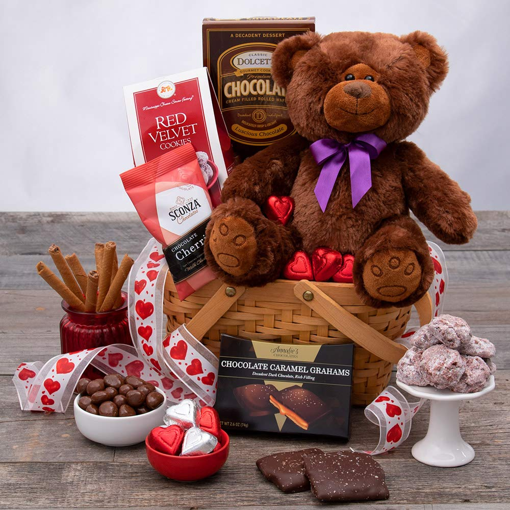 North American Bear Chocolate Ice Cream Goody Plush Bag