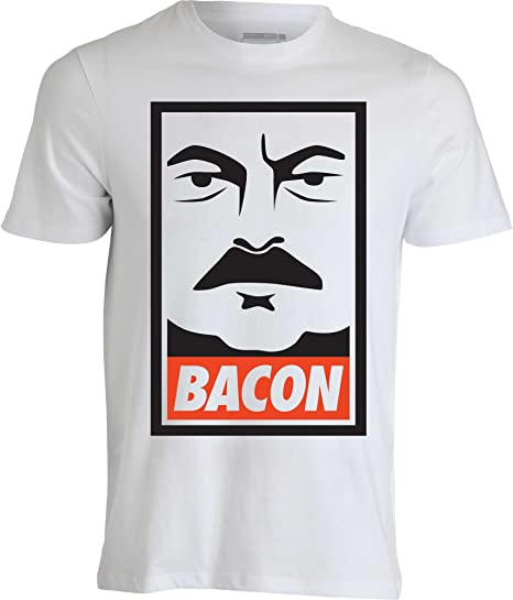 Ron Swanson Parks and Recreation Funny Bacon Blanco ...
