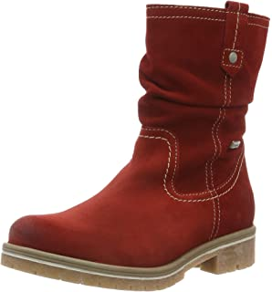 Womens 26243 Chukka Boots, Red, 3 UK Tamaris