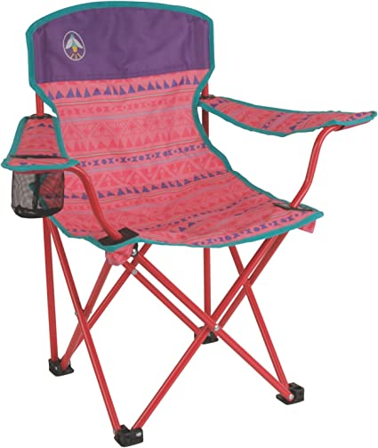 Pink Coleman Kickback Lightweight Folding Camping Chair