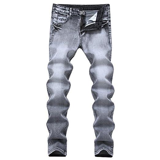 594bd3aa147 George Gouge Retro Nostalgia Straight Denim Jeans Men Plus Size 28-42  Casual Men Long