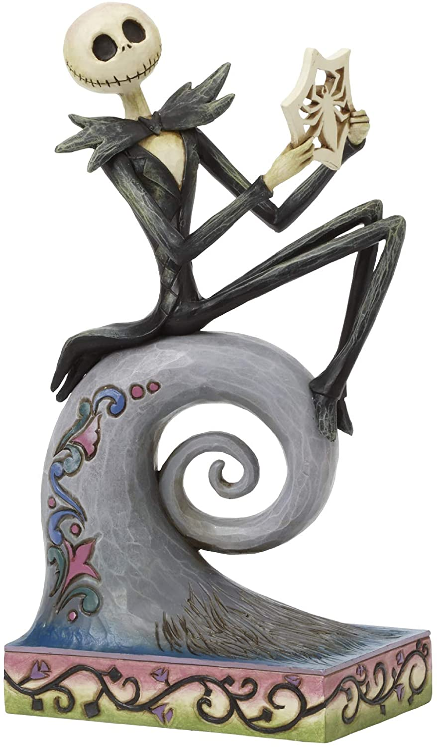 Enesco Disney Traditions by Jim Shore Nightmare Before Christmas Jack Skellington Figurine, 8.5 Inch, Multicolor