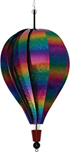 In the Breeze Rainbow Whirl 10-Panel Hot Air Balloon