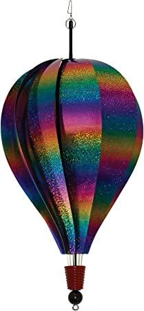 Rainbow Whirl 10 Panel Hot Air Balloon