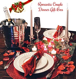 Christmas Gifts For Her Him Couples Dinner For Two Romance In A