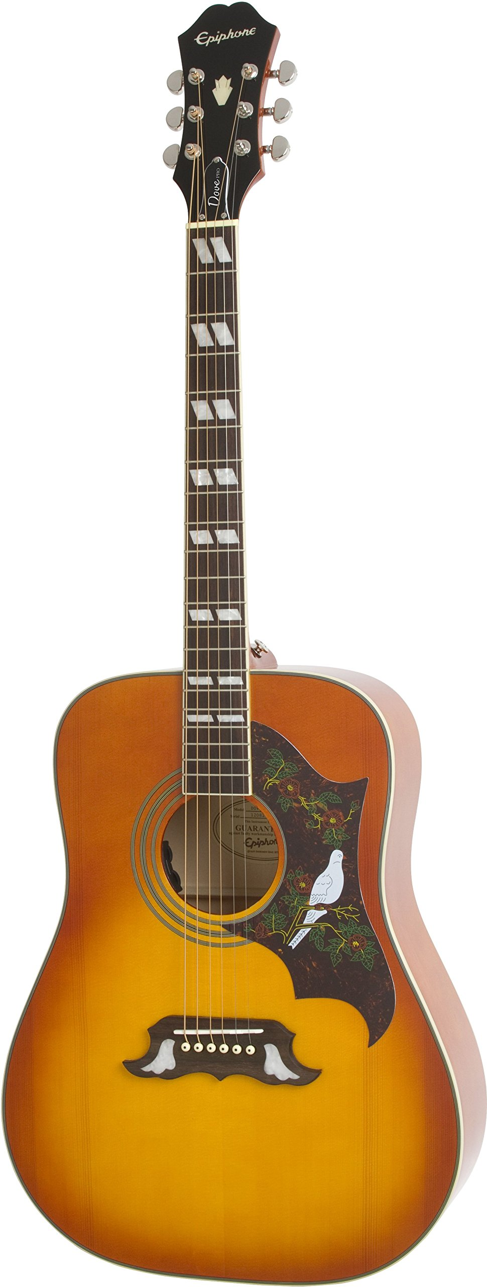 Epiphone DOVE PRO Solid Top Acoustic/Electric Guitar