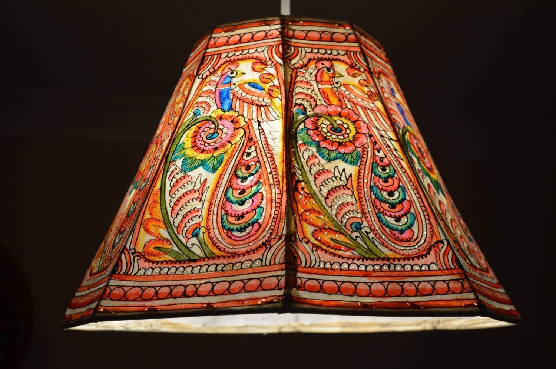 Herbst inspiriert Peacock Lampenschirm | Deckenleuchte Schatten | Vintage-Stil Lampenschirm | Deckenleuchte | Bett Lampe | einzigartige Deckenleuchte