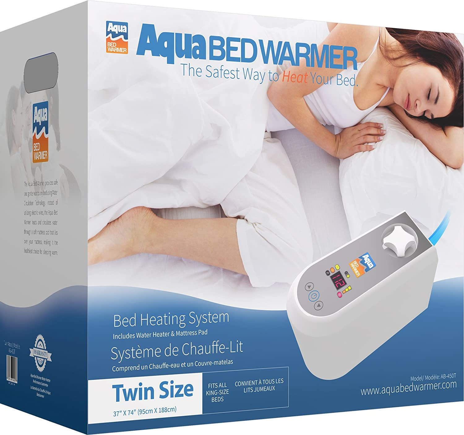 Water bed for patients - Amazon Com Aqua Bed Warmer Non Electric Heater Blanket Twin Home Kitchen