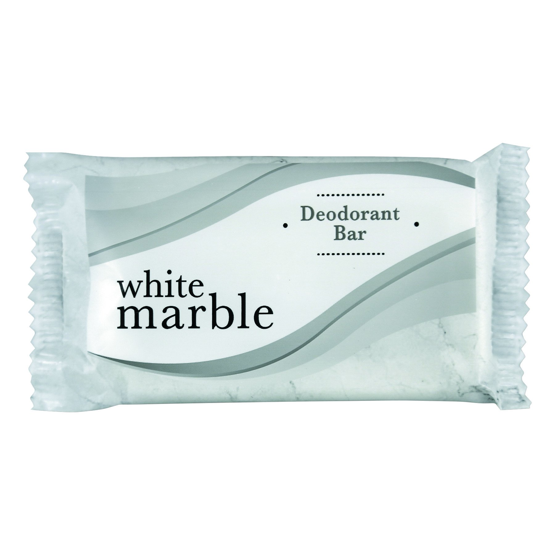 Dial Professional 00194, White Marble Guest Amenities Deodorant Soap, Individually Wrapped, 1.5 OZ (Case of 500)