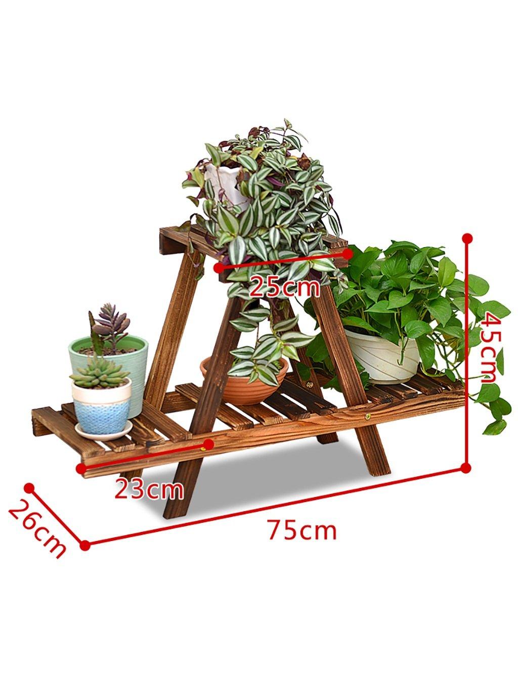 Moderne Holz einfach Mehrschichtige Blume Montage Blume Boden ...