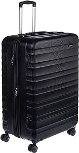 AmazonBasics Hardside Spinner Suitcase Luggage - Expandable with Wheels - 30 Inch, Black