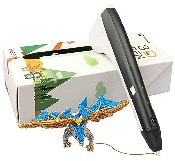 Amazon.com: Pipishell - Bolígrafo de fijación 3D para niños ...