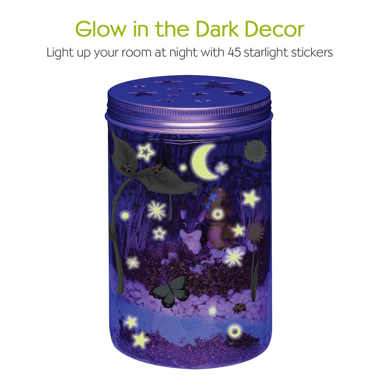 Creativity for Kids Grow 'n Glow Terrarium - Science Kit for Kids by Creativity for Kids (Image #4)