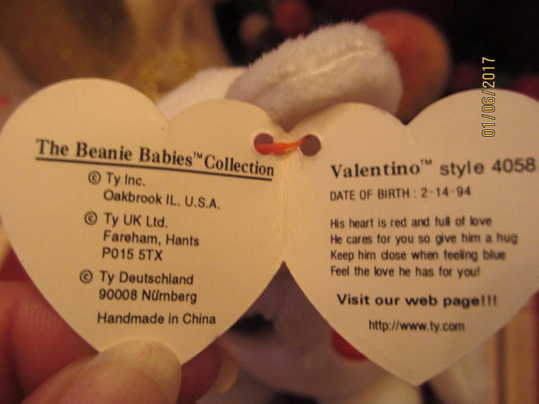 3e3aeeb23cb Amazon.com   Sale Truly Rare Valentino Beanie Baby