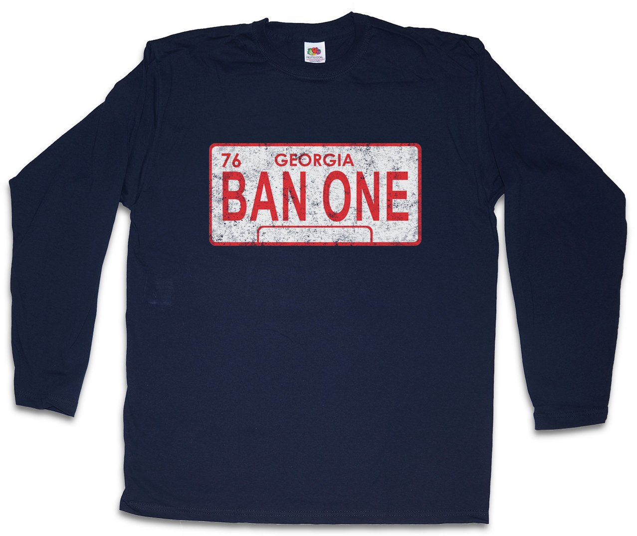 Ban One Sign Plate T Shirt