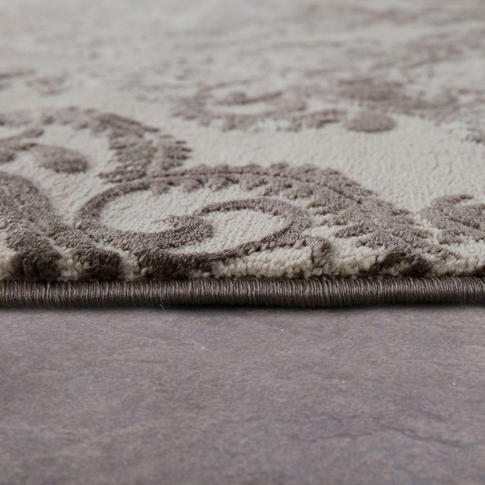Paco Home Designer Teppich Teppich Teppich Moderne Orient Muster 3D Wohnzimmerteppich Beige Creme, Grösse 120x170 cm c1dfde