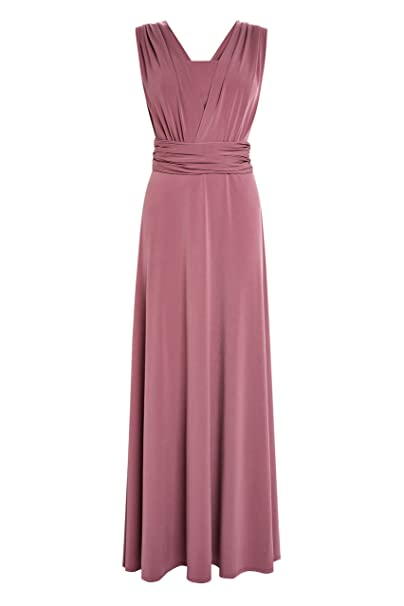 next Donna Abito da Damigella Multiposizione Rosa EU 44 (UK 16)  Amazon.it   Abbigliamento 0800f6cee03b