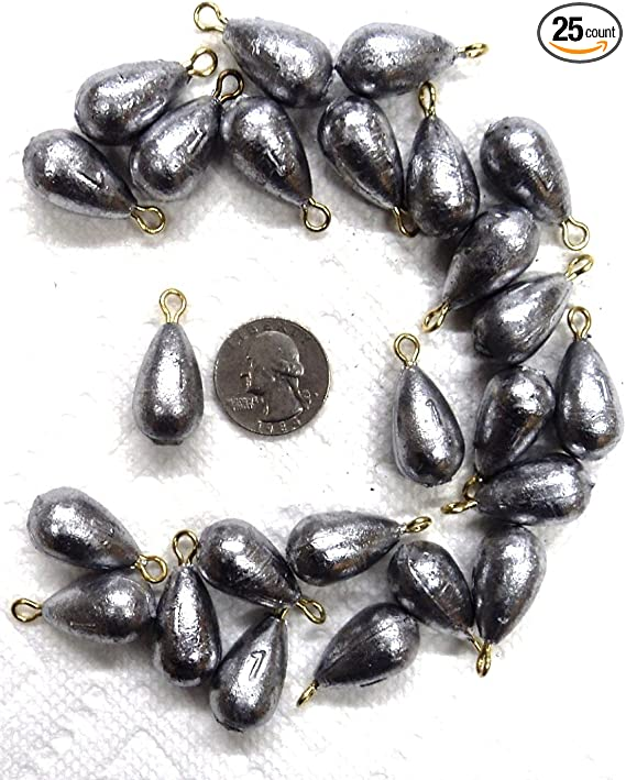 12 count BASS CASTING 1 oz size #4 COLUMBIA made in the U.S.A sinkers weights
