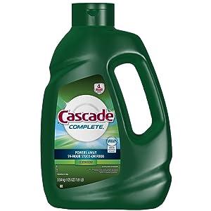 Cascade Complete Detergent, Fresh, 125 Fluid Ounce