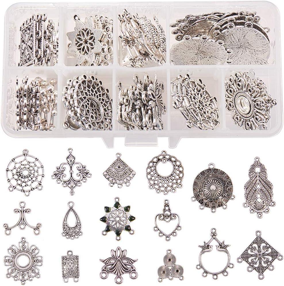Skull Charm//Pendant Tibetan Antique Silver 23mm  5 Charms Accessory Jewellery