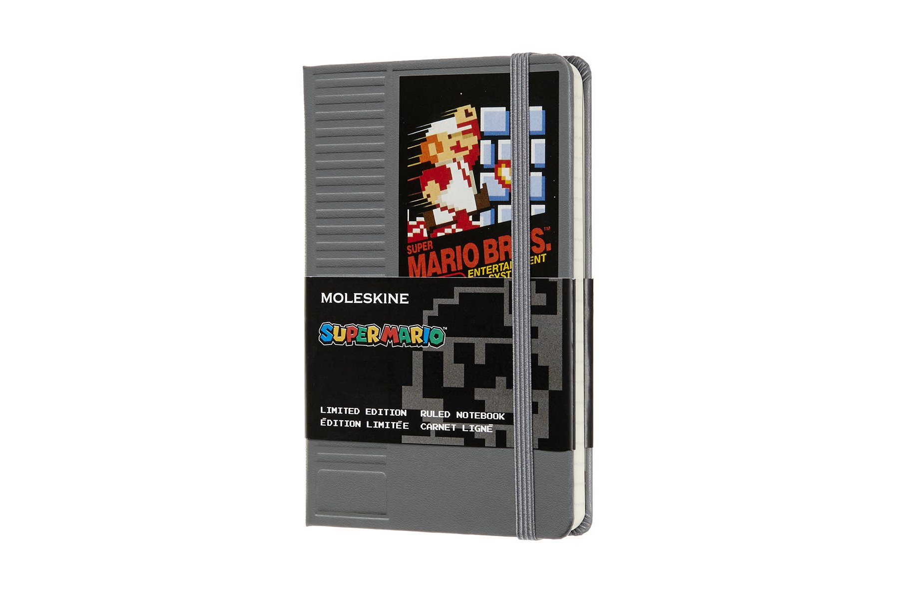 Moleskine Limited Edition Super Mario Hard Cover Notebook,..