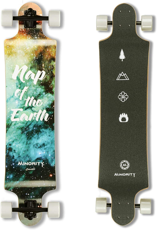 MINORITY Downhill Maple Longboard 40-inch Drop Deck / US