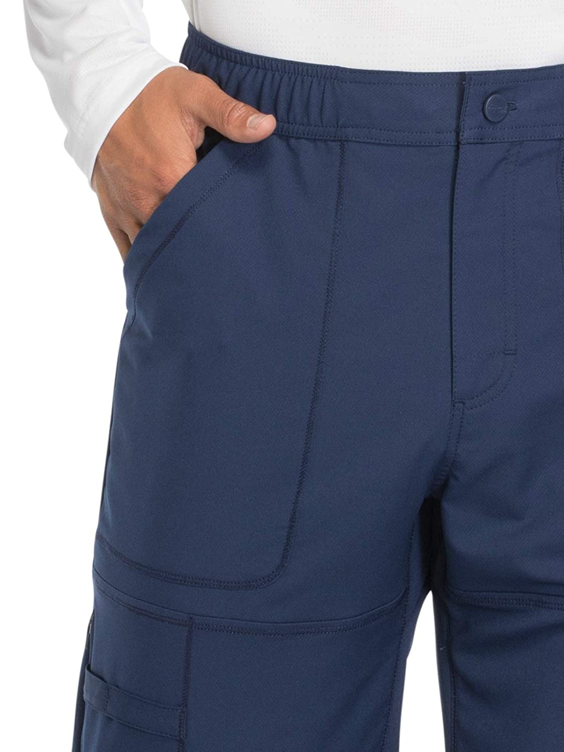 ab260f36c15 Amazon.com: Dickies Dynamix DK110 Men's Zip Fly Cargo Scrub Pant: Clothing