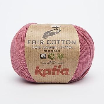 Katia Fair Cotton Fb 14 Frambuesa Filo Di Cotone Cotone