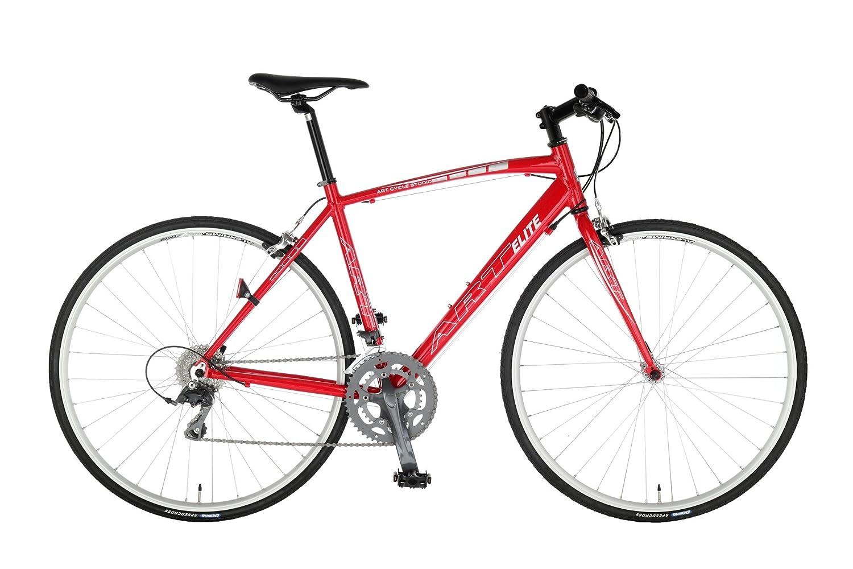 Artcyclestudio(アートサイクルスタジオ) ロードバイク a660f B01BU38CVO 465mm|レッド レッド 465mm