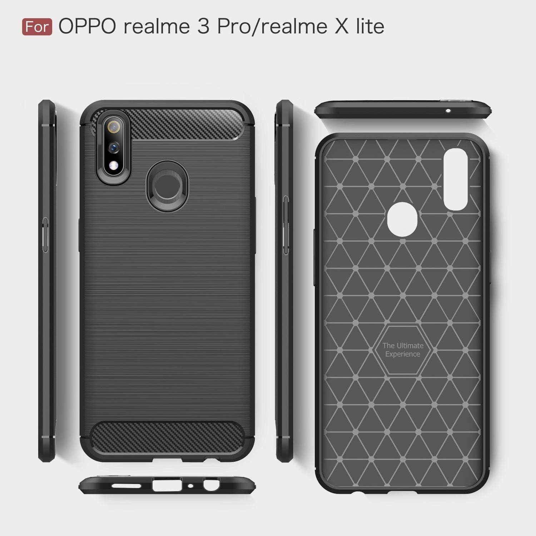 FanTing Funda para OPPO Realme 3 Pro/Realme X Lite, Suave TPU ...