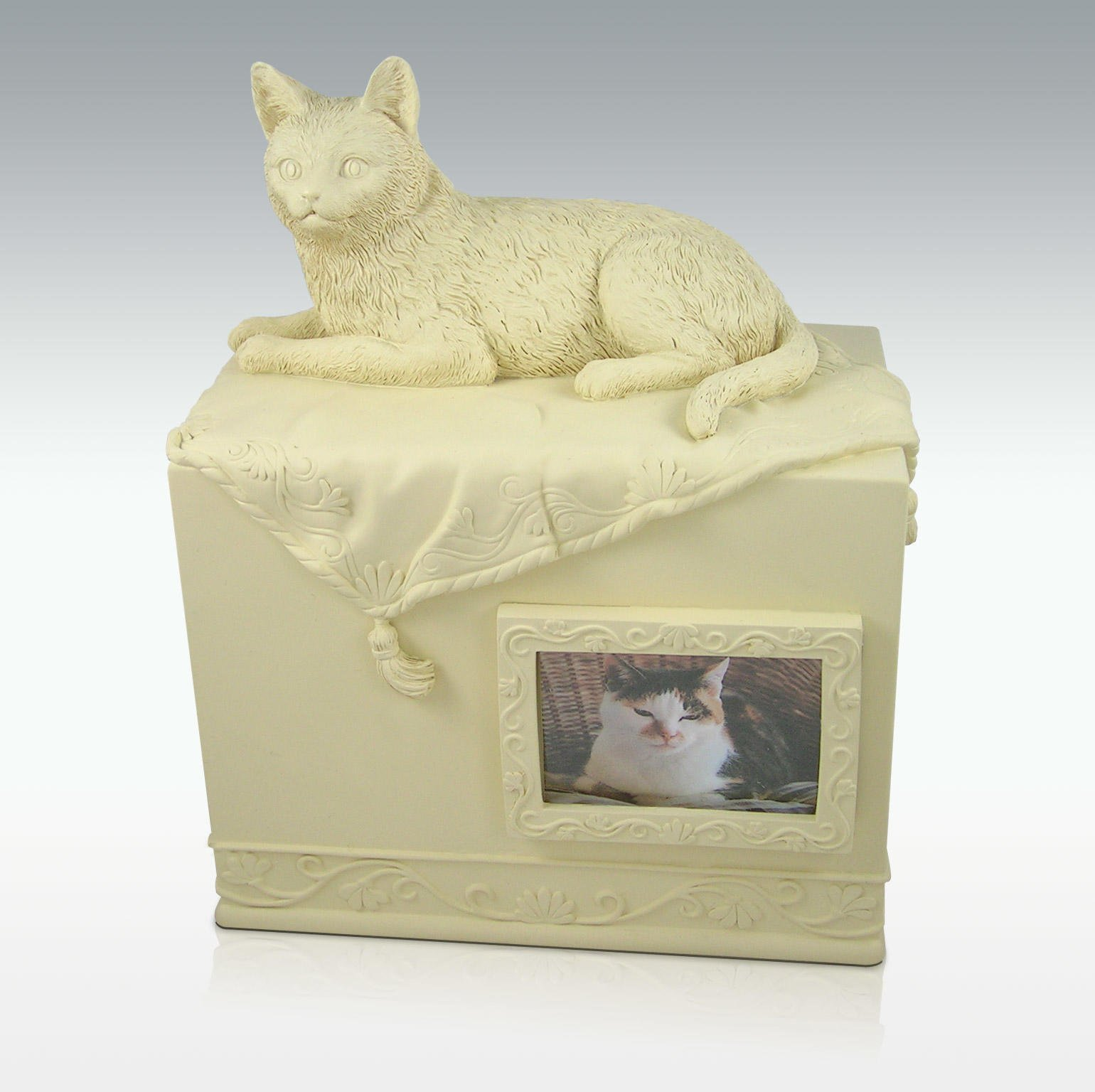 AngelStar Pet Urn for Cat, 55 Cubic Inch