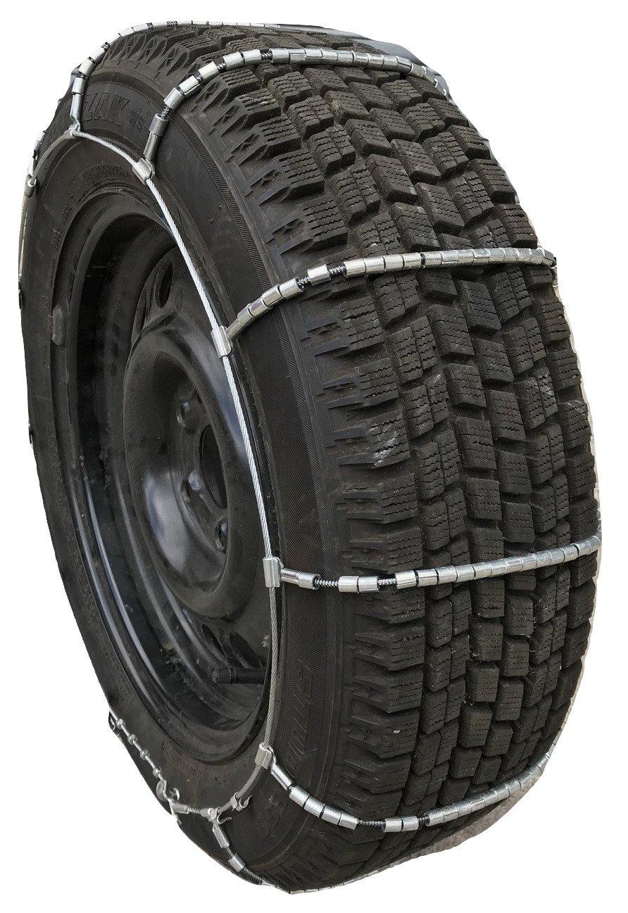 P215//65R16 P205//75R15 195//75R16 225//50R18 P225//60R16 215//60R17 P215//55R17 TireChain.com 235//45R18 P225//45R18 P225//55R16,Cable Tire Chains