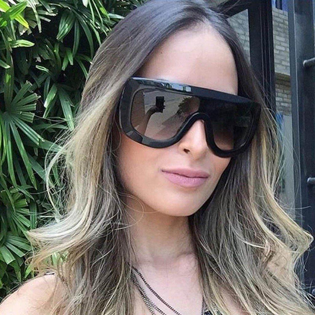 d01628cc3075 Amazon.com  Oversized Celebrity Kim Kardashian Women Sunglasses Sexy Sun  (Black