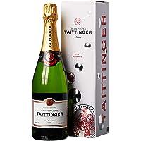 Taittinger Brut Reserve, Botella con pack regalo (1