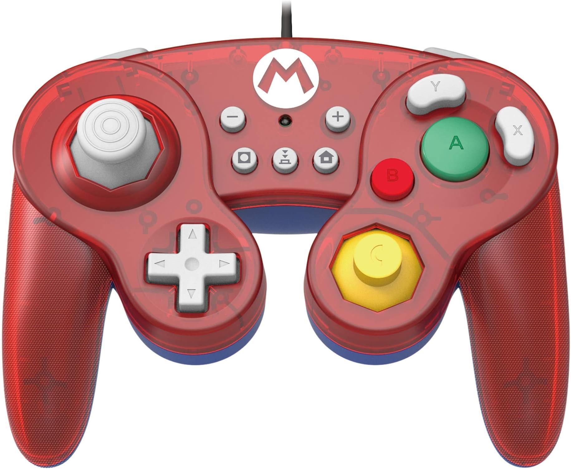 Control Para Nintendo Switch Estilo Gamecube Super Mario Xmp